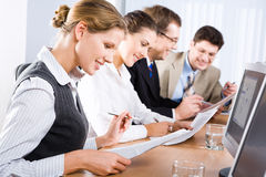 Busy people Royalty Free Stock Image