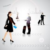 Busy People Royalty Free Stock Images