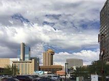 Busy Phoenix Downtown, AZ Royalty Free Stock Photography