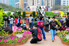 Hong kong intl flower show 2013 Stock Photography