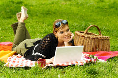 Busy Picnic Royalty Free Stock Image