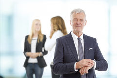 Busy professional man portrait Royalty Free Stock Image