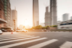 Busy roads of major cities Royalty Free Stock Images