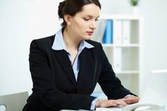 Busy secretary Stock Photos