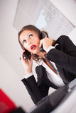 Busy secretary Royalty Free Stock Photography
