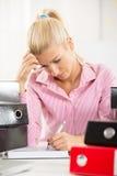 Busy Secretary Royalty Free Stock Photography