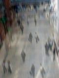 Busy shopping mall stock photos