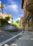 Busy street. In Lovran, Croatia Stock Images
