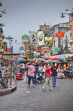 Busy street in Bangkok Thailand Royalty Free Stock Image