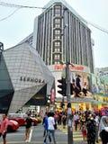 Busy Street at Bukit Bintang Kuala Lumpur Royalty Free Stock Photos
