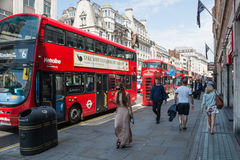 Busy street in London Stock Photography