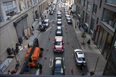 Busy street in New York Stock Photos