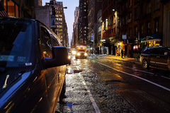 Busy street in New York Royalty Free Stock Image