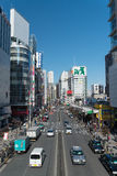 A busy street of Shinjuku Royalty Free Stock Images
