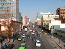 Busy street in Teheran: Iran stock photos