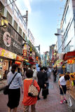 Busy street of Tokyo, Japan Stock Images