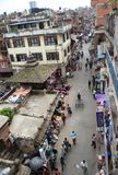 Busy Streets of Kathmandu Royalty Free Stock Photos