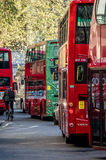 Busy streets of London Royalty Free Stock Image
