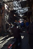 Busy streets of Marrakech Stock Photography
