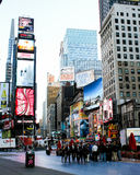 Busy Times Square, Manhattan, NYC Stock Photos