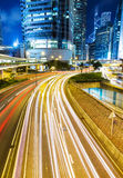Busy traffic in city Royalty Free Stock Photography