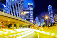Busy traffic in city Royalty Free Stock Images