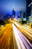 Busy traffic in Hong Kong Stock Photos