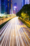 Busy traffic in Hong Kong Royalty Free Stock Images