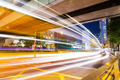 Busy traffic in Hong Kong Royalty Free Stock Photography