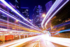 Busy traffic in Hong Kong Royalty Free Stock Image