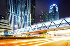 Busy traffic in Hong Kong Royalty Free Stock Photo