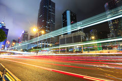 Busy traffic in Hong Kong Stock Images