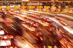 Busy traffic jam Royalty Free Stock Image