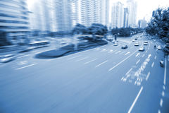 Busy traffic Royalty Free Stock Images