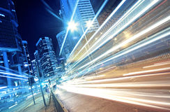 Busy traffic night Royalty Free Stock Photography