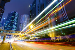 Busy traffic road Royalty Free Stock Images