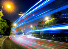 Busy traffic on road Royalty Free Stock Image