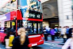 Busy traffic scene in London, UK Royalty Free Stock Photo