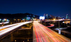 Busy traffic in Seoul Royalty Free Stock Photo