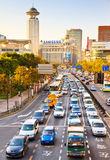 Busy traffic, Shanghai China Stock Photography