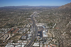 Busy Tucson Highway Royalty Free Stock Photography