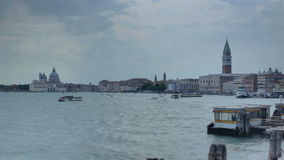 Busy Venice Time Lapse stock footage