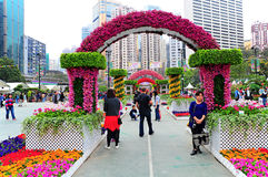 Hong kong international flower show 2013 Stock Photo
