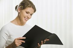 Busy woman Royalty Free Stock Photography
