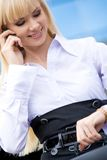 Busy woman Royalty Free Stock Images