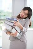 busy work 免版税库存图片