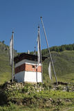 Butão, Haa Foto de Stock