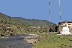 Butão, Haa, chorten Imagem de Stock
