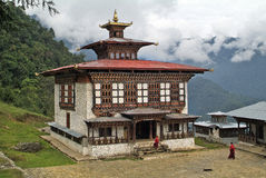 Butão, Mongar Imagens de Stock Royalty Free