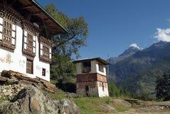 Butão, Paro, Imagem de Stock